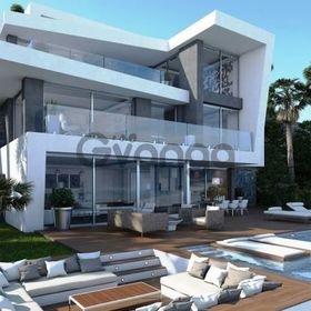 Недвижимость в Испании, Новая вилла на первой линии море от застройщика в Хавеа,Коста Бланка,Испания
