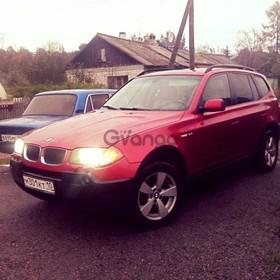 BMW X3 25i 2.5 AT (192 л.с.) 4WD 2004 г.