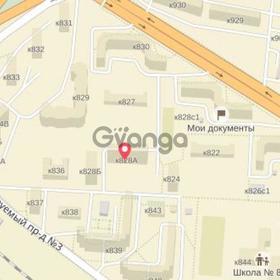 Сдается в аренду квартира 3-ком 80 м² Солнечная828а, метро Речной вокзал