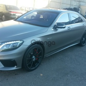 Mercedes-Benz S-klasse 63 AMG 5.5 AT (585 л.с.) 4WD 2015 г.