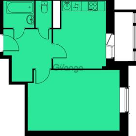 Продается квартира 1-ком 39.1 м², метро Пятницкое шоссе