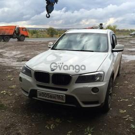 BMW X3 20i xDrive 2.0 MT (184 л.с.) 4WD 2011 г.