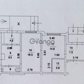 Продается нежилое помещение 57.1 м² Нарвская ул 1Ак1