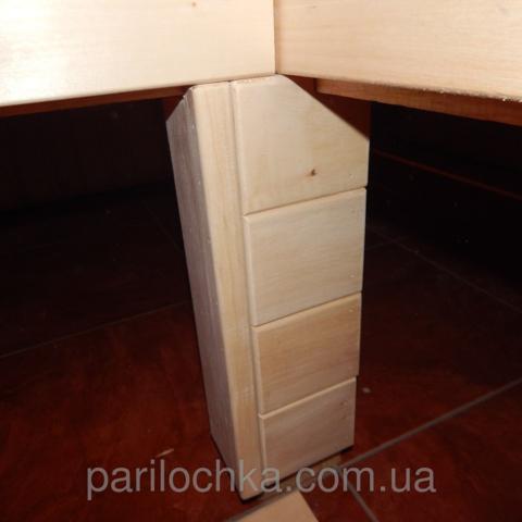 Лежак в баню из липы в Харькове
