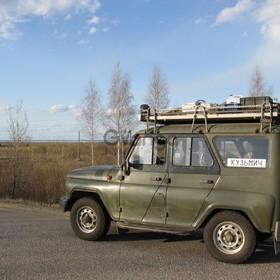 УАЗ Hunter 315195 2.5d MT (86 л.с.) 4WD 2005 г.
