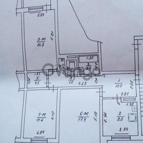 Продается квартира 3-ком 73 м² Пригородная 36б