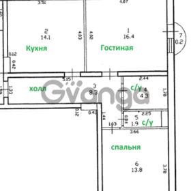 Продается квартира 2-ком 58 м² Садовая