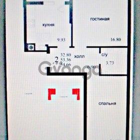 Продается квартира 2-ком 56 м² Калининградский проспект