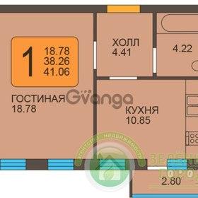 Продается квартира 1-ком 41 м² Пражский бульвар