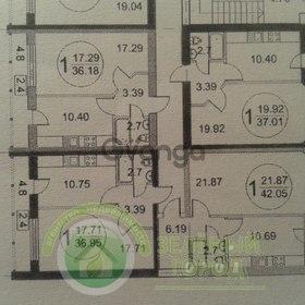 Продается квартира 1-ком 42 м² Нансена 13