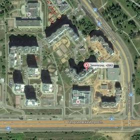 Сдается в аренду квартира 3-ком 74 м² д.2043, метро Речной вокзал