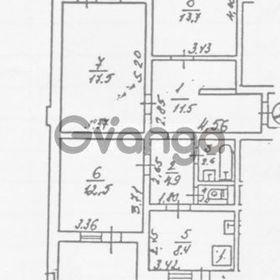 Продается квартира 3-ком 78 м² ул. Лепсе Ивана, 38в