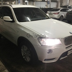 BMW X3 28i xDrive 3.0 AT (258 л.с.) 4WD 2012 г.