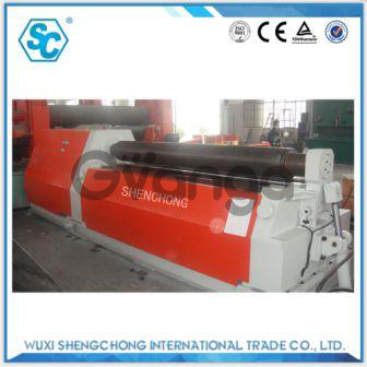 SW12-12х3000 четырехвалковая вальцовочная машина из Китая