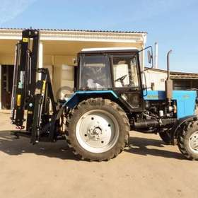 Кран-манипулятор навеска на трактор
