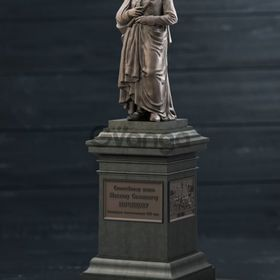 Статуэтка - памятник князю Воронцову Одесса