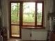 Деревянные балконные блоки, балконная дверь, выход на балкон.