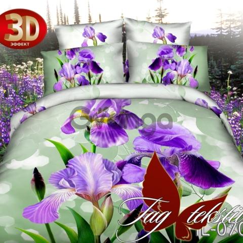 Купить постельное белье дешево, Микросатин HL070
