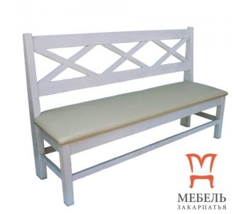 Мебель из дерева под старину, Скамейка Хит 2450