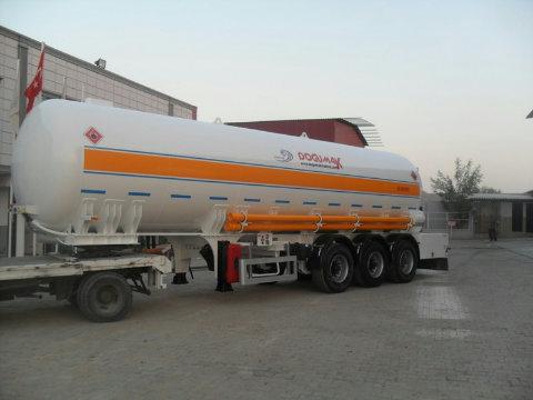 Полуприцепы газовозы, новые, пр-ва Турции.