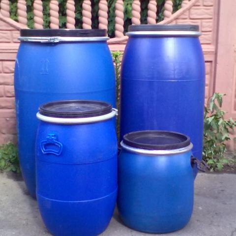 Продам бочки пластиковые 50-200 литров