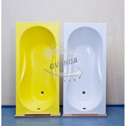 Продам  стеклопластиковую композитную ванну прямоугольную 150x70 см