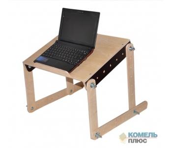 Столик трансформер для работы на ноутбуке лежа в кровати