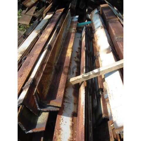 Уголок 160х160х10 мм б/у, длиной 5-7 м