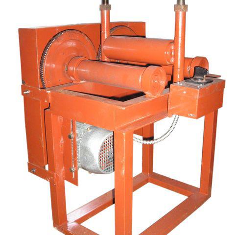 Вальцы электромеханические трехвалковые (трубогиб профильной трубы)