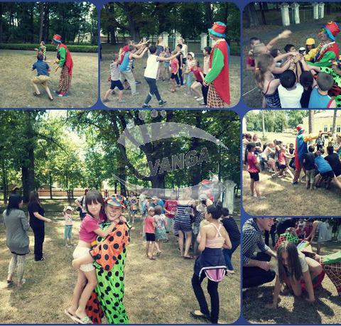 Заказ клоунессы и клоуна. Пригласить аниматоров в Киеве и область.