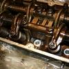 Головка блока двигателя с распредвалом,клапанами,маховиком рычагами