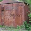 Металлический гараж разборный б/у