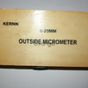 Микрометр KERNN 0-25мм новый OUTSIDE MICROMETER