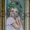 "Картина автора""Бубочка""-пастель, 55х32"