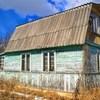 Бревенчатый зимний дом с баней на земле СНТ под Псковом