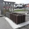 Ваза из бетона декоративная