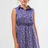 Платье-рубашка Розочки