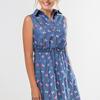 Платье-рубашка Бантики
