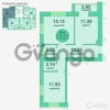 Продается квартира 2-ком 57 м² Потёмкина