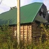 Новый дом в петле реки у соснового бора под Псковом