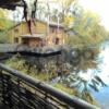 Дом-сруб на воде посуточно для проведеня празднечных мероприятий или семейного отдыха.