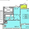 Продается квартира 1-ком 42 м² Щорса ул.