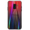 TPU+Glass чехол Gradient Aurora для Samsung Galaxy A6 (2018) Красный