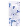 TPU чехол матовый soft touch color для Samsung G955 Galaxy S8 Plus Голубой цветок