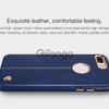 """Кожаная накладка Nillkin Englon Series для Apple iPhone 7 plus (5.5"""") Синий"""