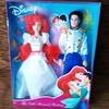Часть коллекции Disney Classic Doll Ариэль и Эрик - набор кукол -  свадьба - Русалочка - оригинал.