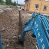 Аренда мини экскаватора в Рощино.