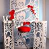 Свадебные декорации из пенопласта