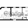 Продается квартира 2-ком 55 м² Воровского