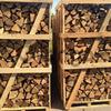 Предлагаем колотые дрова твердых пород в ящиках с доставкой в Киеве и области